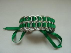 Bracelet en capsules de canette Le blog de Marie-Louise