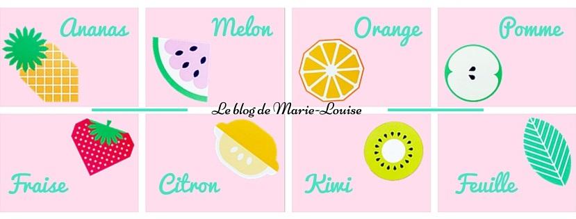 DIY guirlande de fruits Le blog de Marie Louise