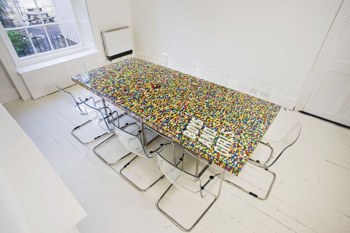Meuble Lego Design #13: Table En Légo Le Blog De Marie-Louise