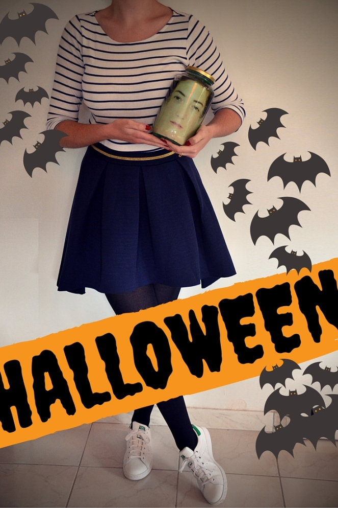 DIY d'hallowenn tete dans un bocal, le blog de marie-louise 1