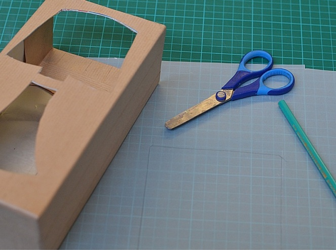 DIY Lampe recylée en carton le blog de marie-louise 11