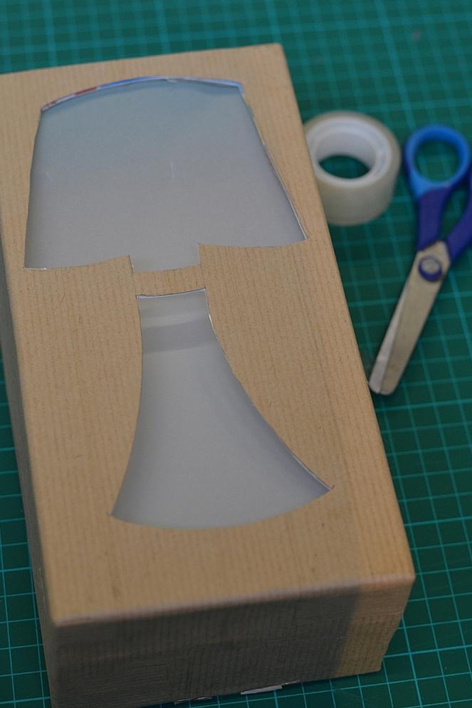 DIY Lampe recylée en carton le blog de marie-louise 12