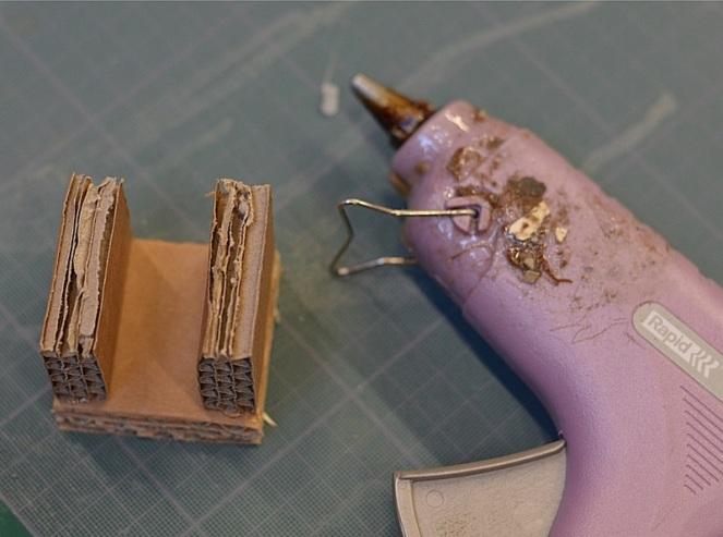 DIY Lampe recylée en carton le blog de marie-louise 14