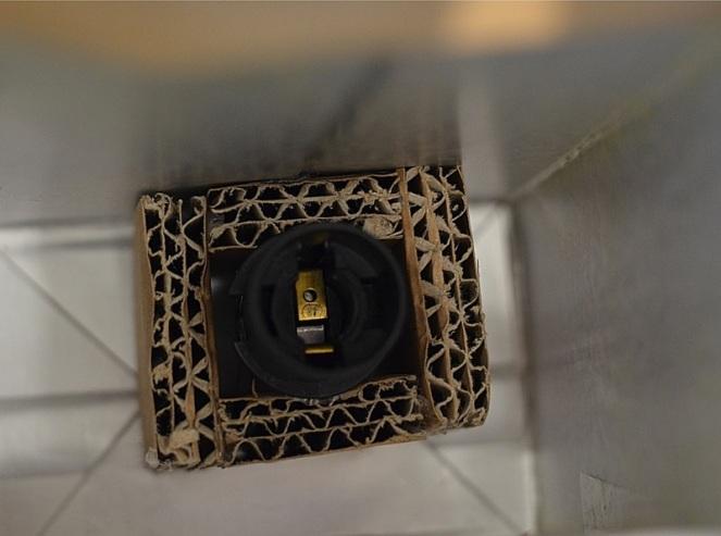 DIY Lampe recylée en carton le blog de marie-louise 16