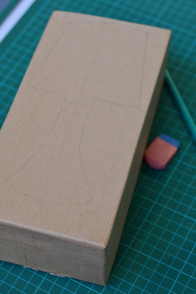 DIY Lampe recylée en carton le blog de marie-louise 9
