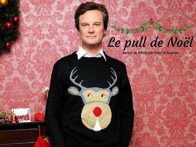 Pull de Noël le blog de marie louise