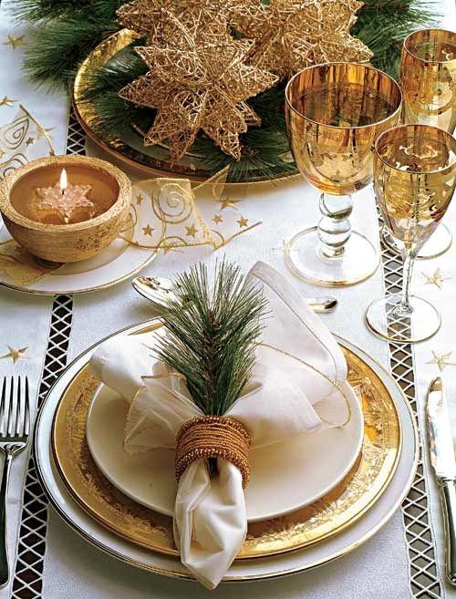 Décoration table de Noël le blog de marie-louise 1