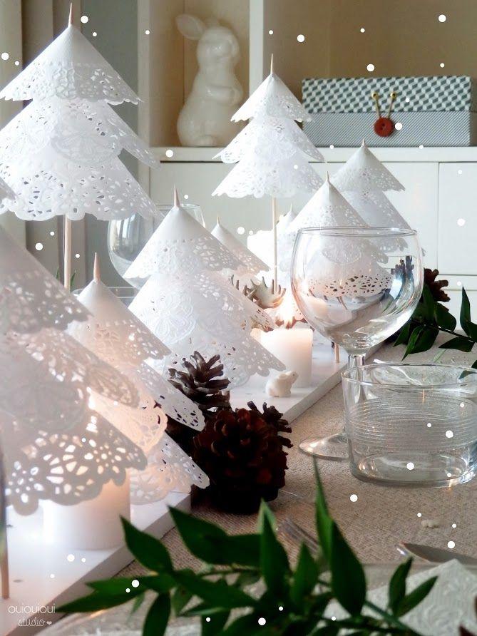 Décoration table de Noël le blog de marie-louise 10
