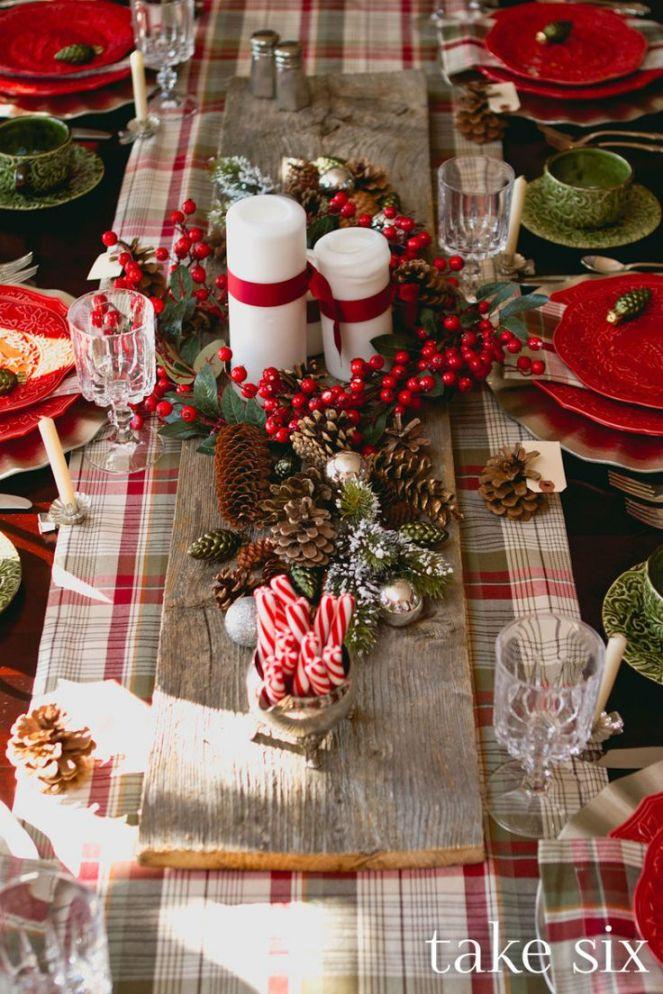 Décoration table de Noël le blog de marie-louise 3
