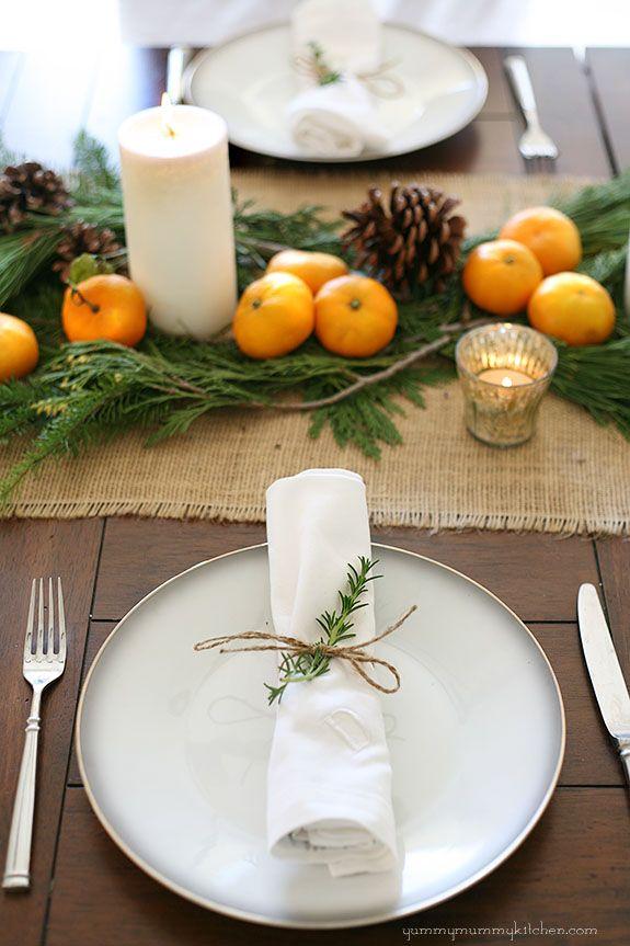 Décoration table de Noël le blog de marie-louise 4