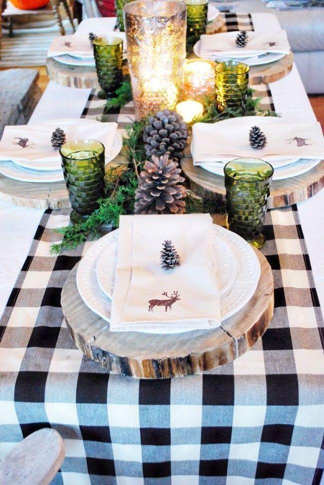 Décoration table de Noël le blog de marie-louise 5