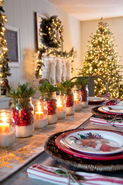 Décoration table de Noël le blog de marie-louise 9