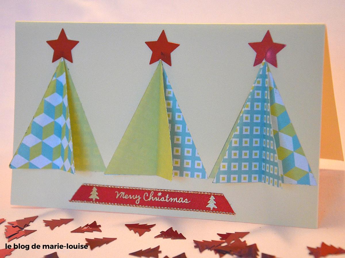 Carte De Voeux 3D A Fabriquer diy cartes de vœux – le blog de marie-louise